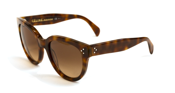 f4e9e060482c Celine Sunglasses Audry in tortoise at Dan Deutsch Optical in Los Angeles