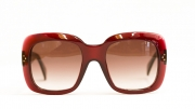 "Celine Eyewear ""TV Screen\"" in color bordeaux at Dan Deutsch West Hollywood"