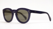 Celine Sunglasses with a keyhole bridge in Navy at Dan Deutsch Beverly Hills