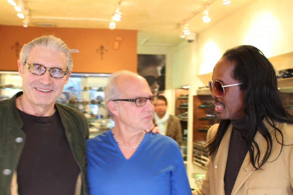 Michael Nouri, Dan Deutsch and Verdine White
