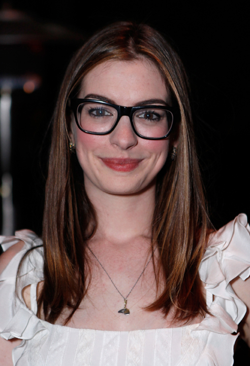 aa6925981a8 Anne Hathaway in Barton Perreira Preston available at Dan Deutsch Optical  Outlook
