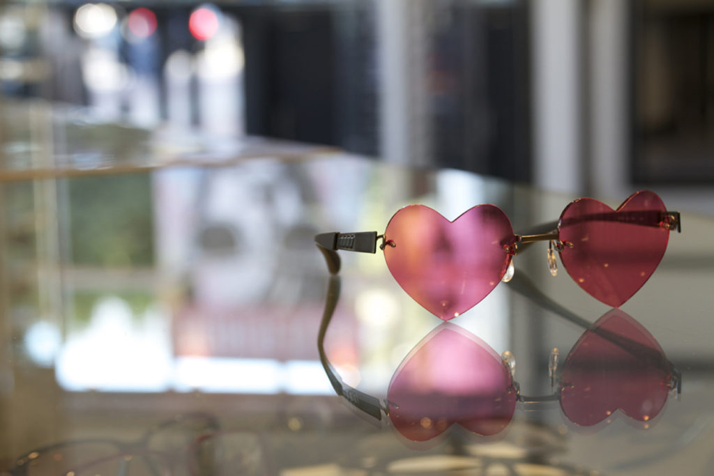 Heart-Shaped Lenses