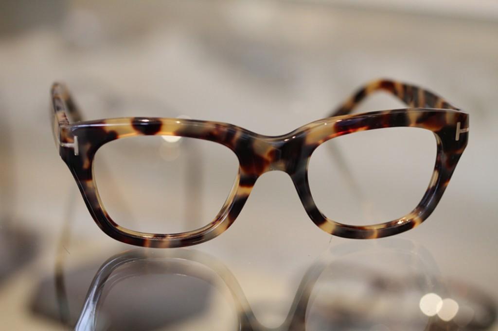 Tom Ford Tortoise shell glasses available at Dan Deutsch Optical Outlook