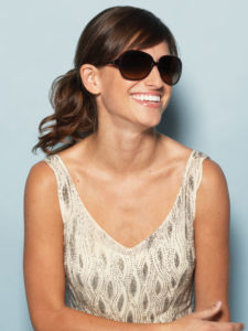 Anamique wearing SALT. Optics style Odette
