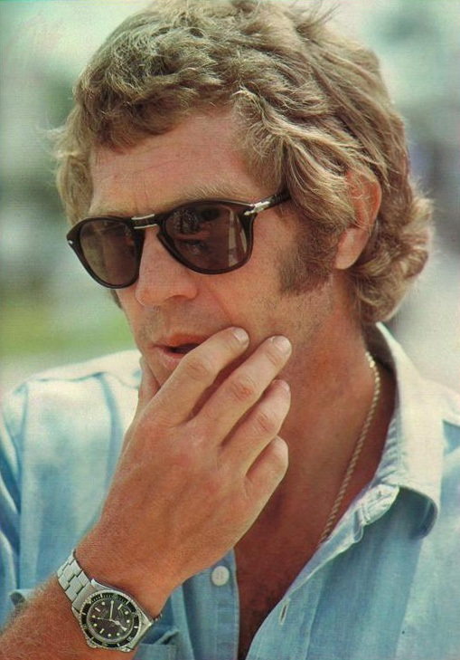 Steve McQueen wearing his Persol 714 Sunglasses
