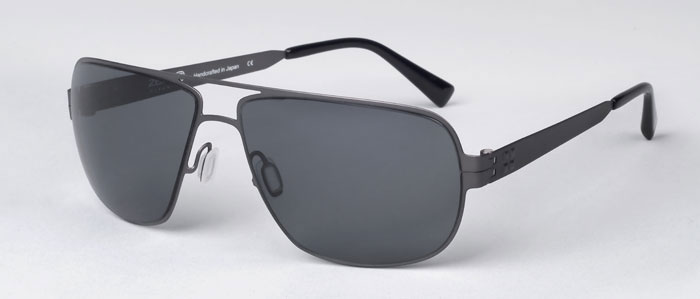 Zero G Titanium Eyewear Born in Brooklyn Sunglasses Grey