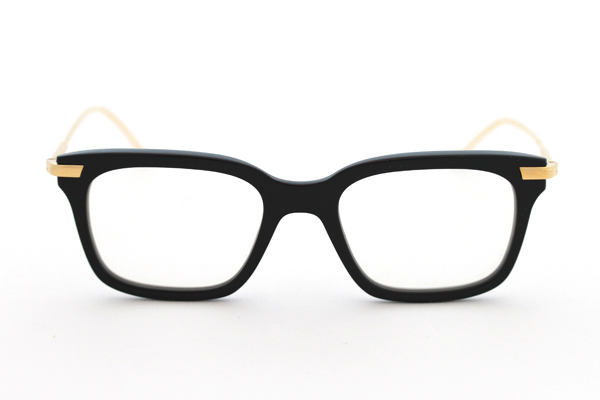 Thom Browne glasses in Los Angeles Black and Shiny Gold