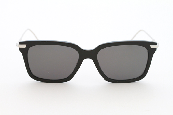 Thom Browne Wayfarer Sunglasses in Black and Silver from Dan Deutsch