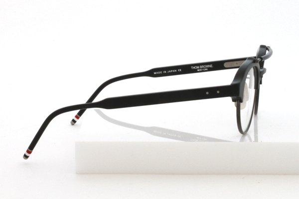 Thom Browne eyewear TB 700 double bridge black right side