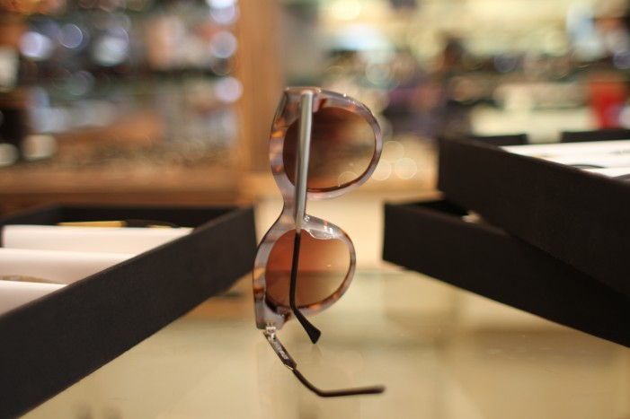 Thierry Lasry Glitzy's pearly back stands out in a crowd.