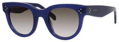 Céline 41053/S in Blue (0M23) with Brown Degrade lenses