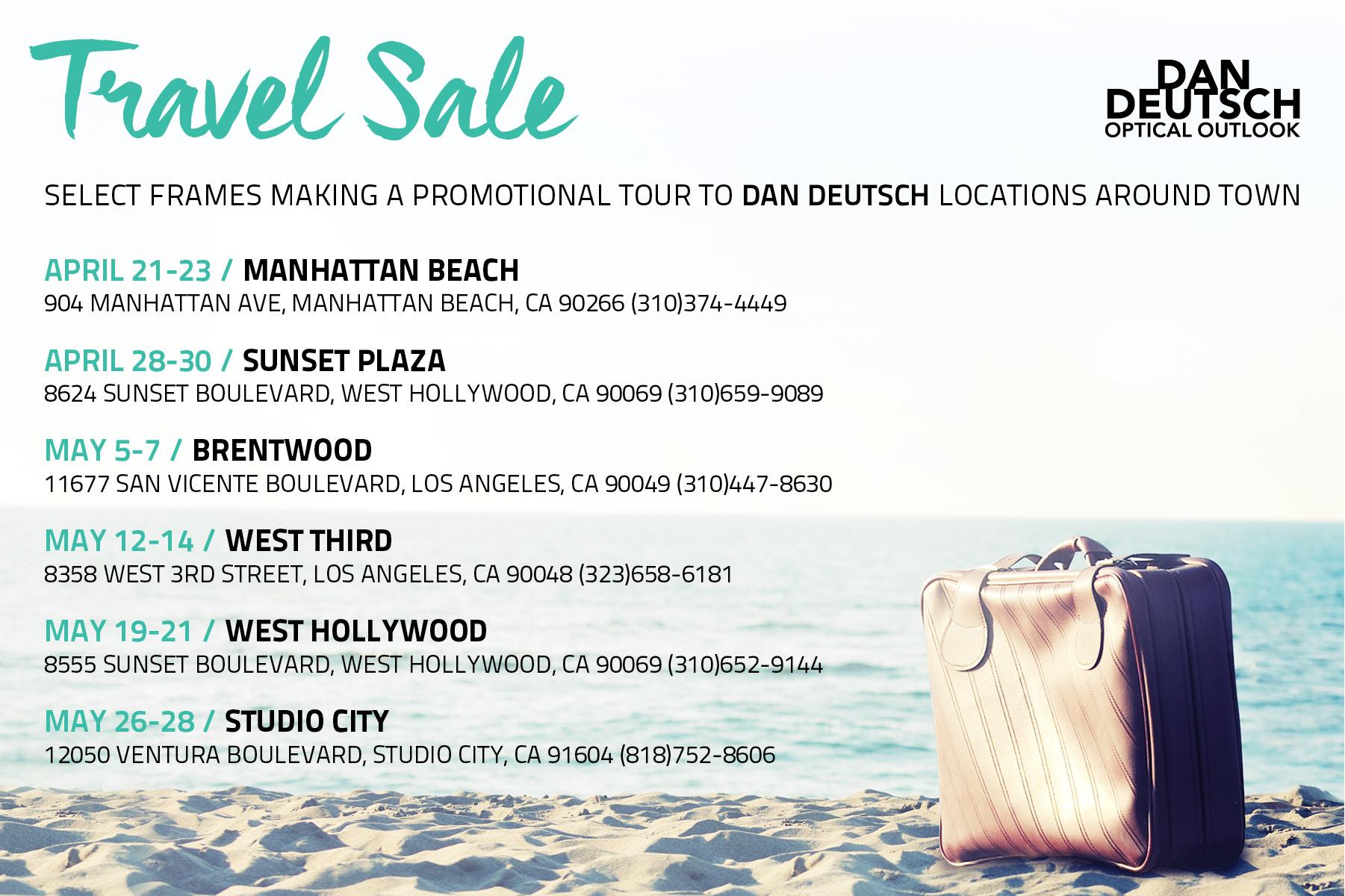 51f0e279844a Dan Deutsch Optical Outlook - Los Angeles Eyewear