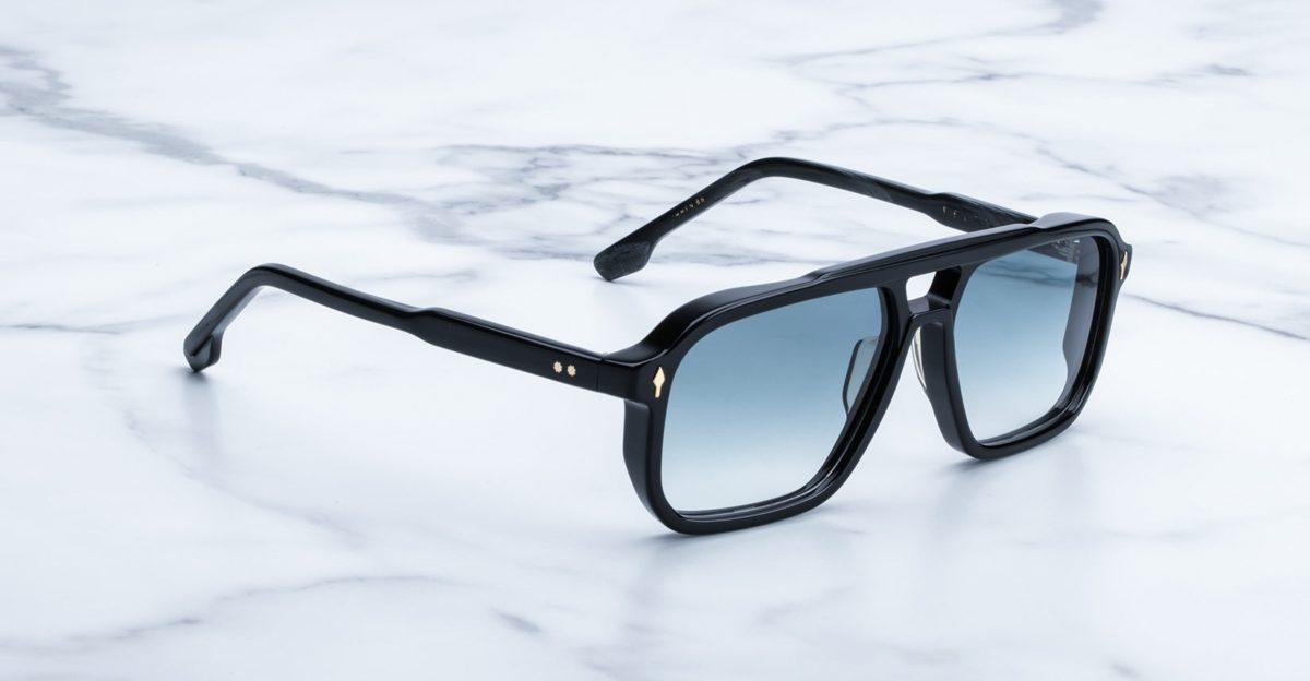 Jacques Marie Mage Felson sunglasses in color Jasper JMMFN-96