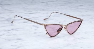 Jacques Marie Mage Niki Sunglasses in colorway Nude JMMNK-56