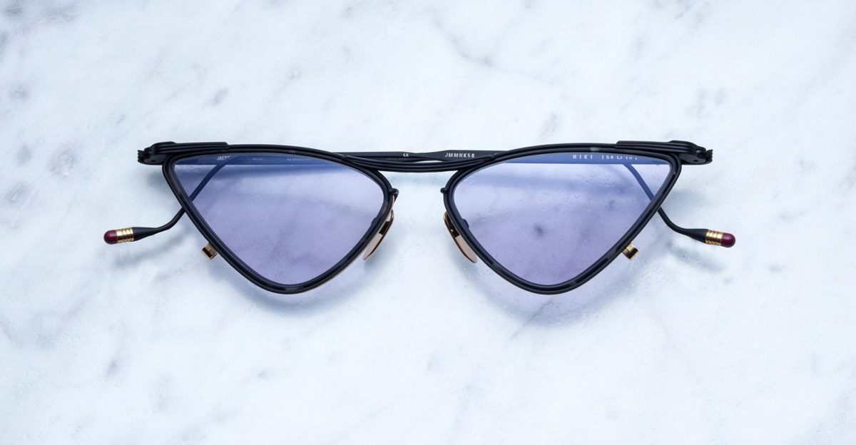 Jacques Marie Mage Niki Sunglasses in colorway Raven JMMNK-58