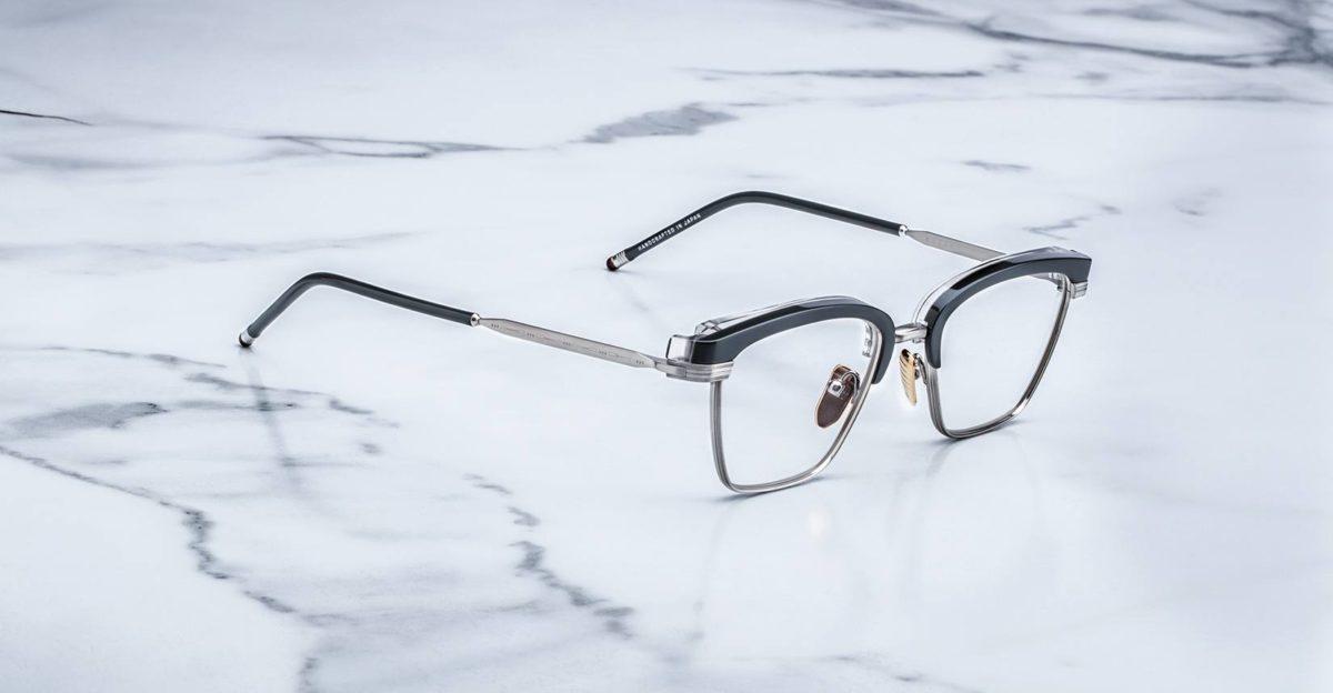 Jacques Marie Mage Nokona eyeglasses in Graphite colorway RX-JMMNORX-98