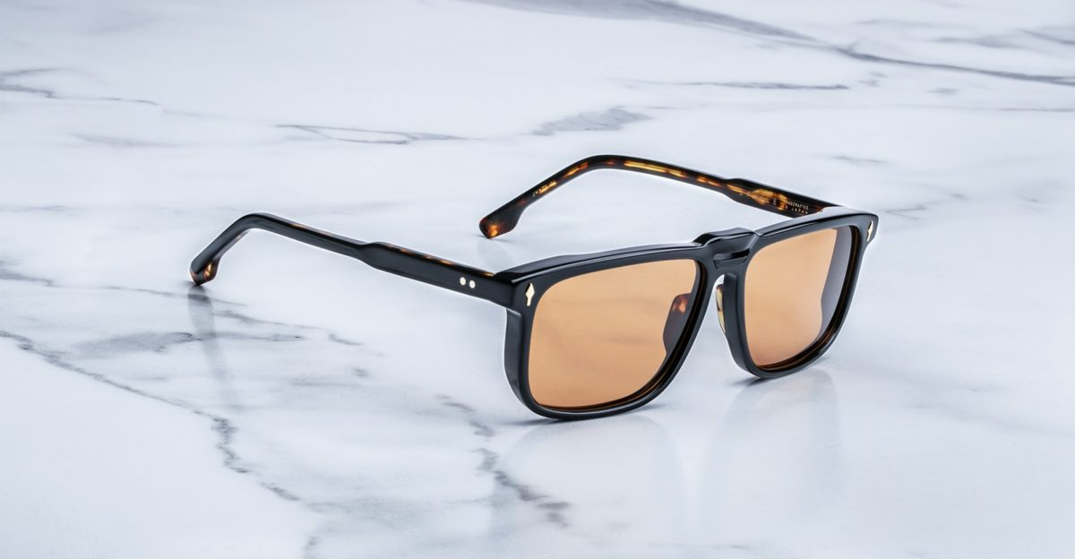 Jacques Marie Mage Savile sunglasses in Noir JMMSV-01