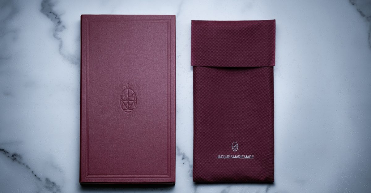 Jacques Marie Mage Strap Packaging