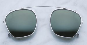 Jacques Marie Mage Zephirin Clip-on in Silver with G15 Lenses JMMZPC-2
