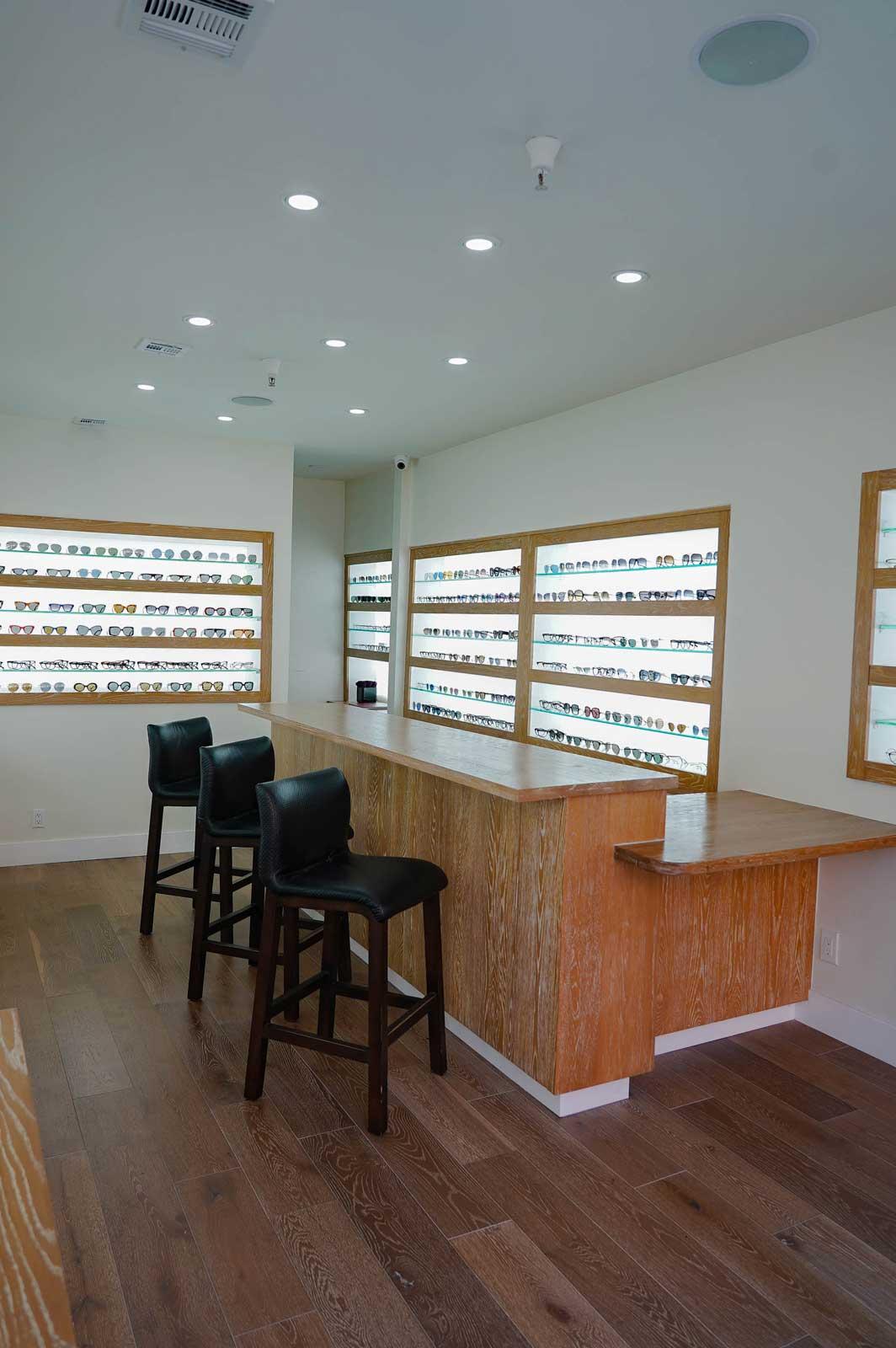 Dan Deutsch Optical Outlook Beverly Hills interior