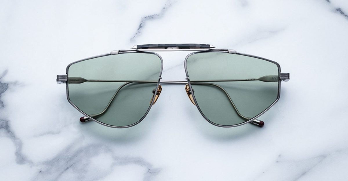 Jacques Marie Mage 1962 style sunglasses in colorway Antique