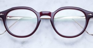 Jacques Marie Mage Angeli style eyewear in Burgundy