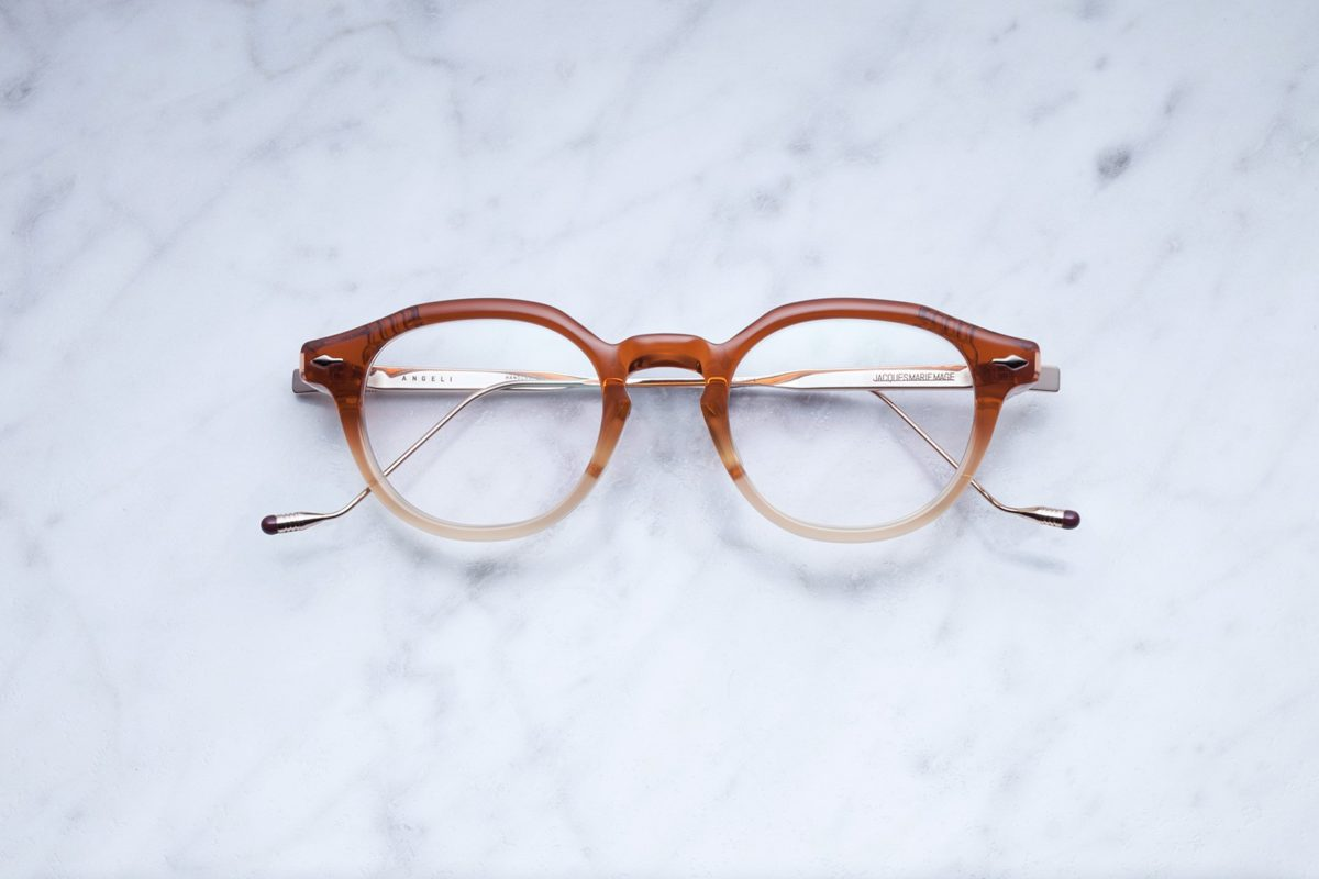 Jacques Marie Mage Angeli style eyeglasses in Straw color