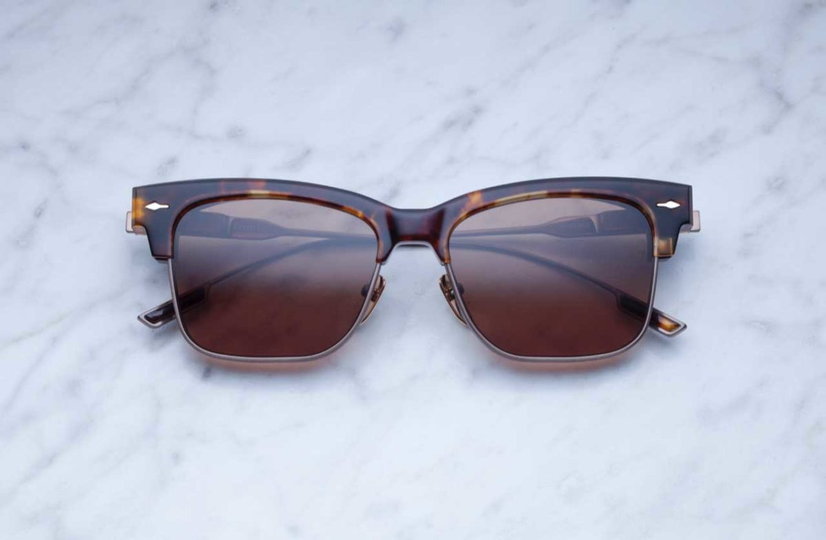 Jacques Marie Mage Apache style sunglasses in Havana