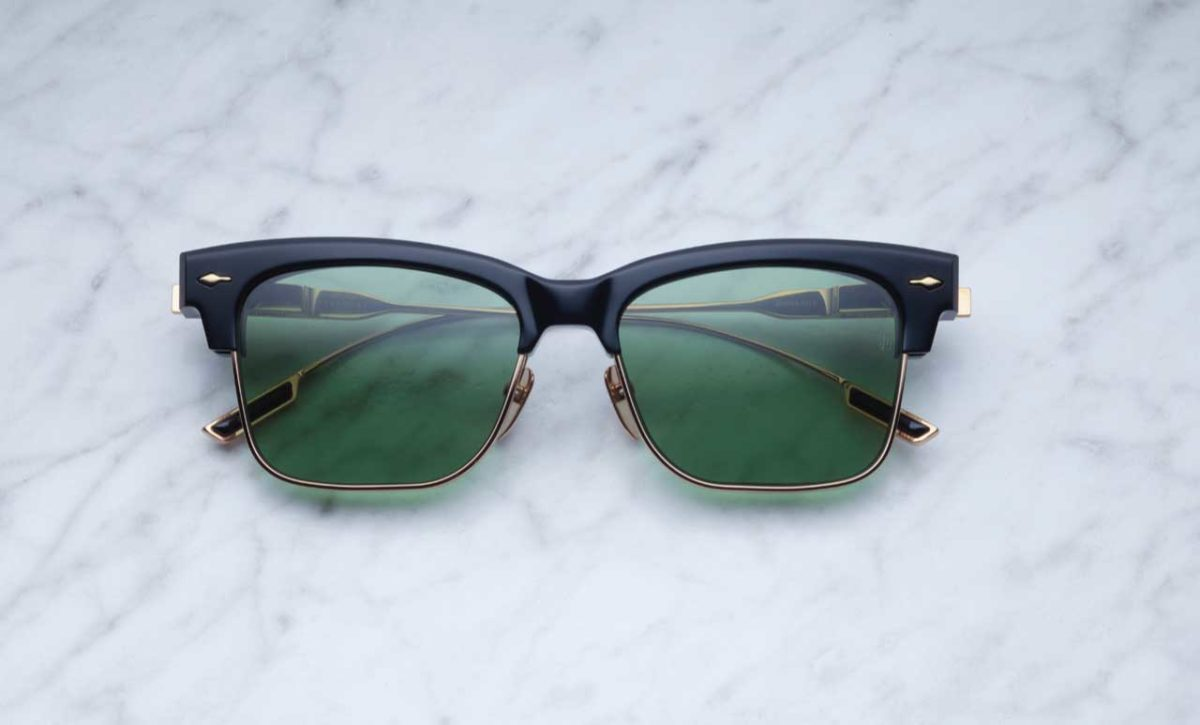 Jacques Marie Mage Apache style sunglasses in black