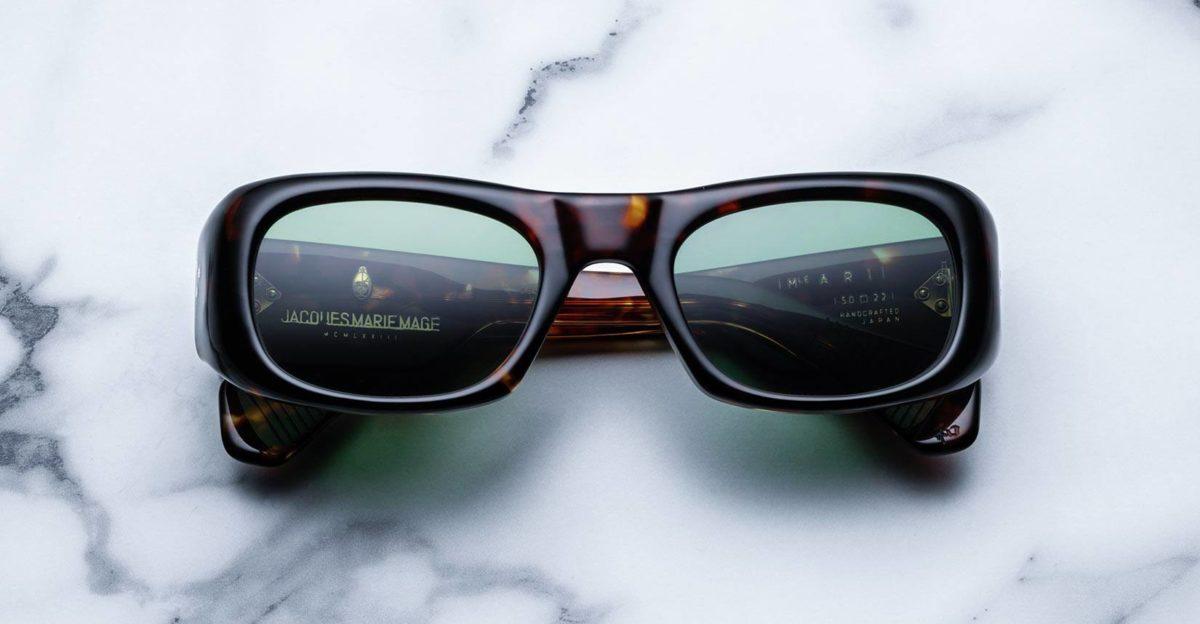 Jacque Marie Mage Ari sunglasses in Dark Havana colorway