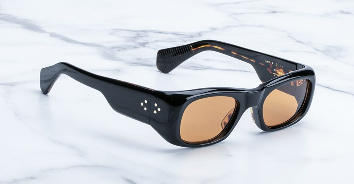 Jacques Marie Mage Ari sunglasses in black available at Dan Deutsch Optical Outlook
