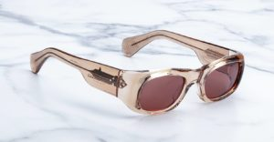 Jacques Marie Mage Ari sunglasses in Tan color JMMRI-01