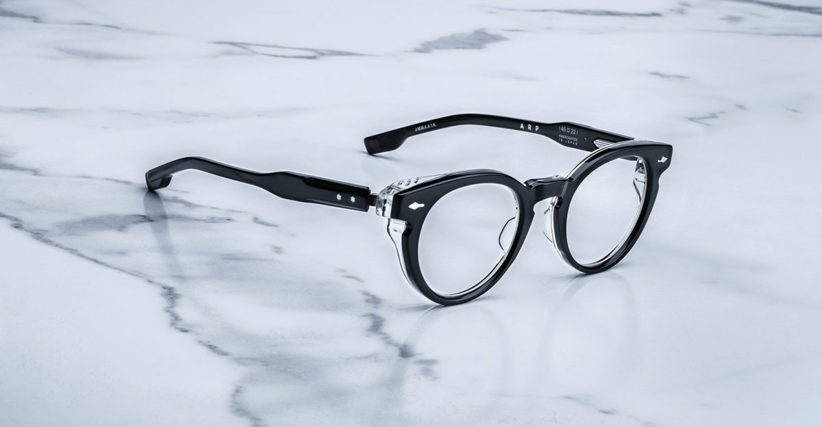 Jacques Marie Mage Arp style glasses in colorway Maverick