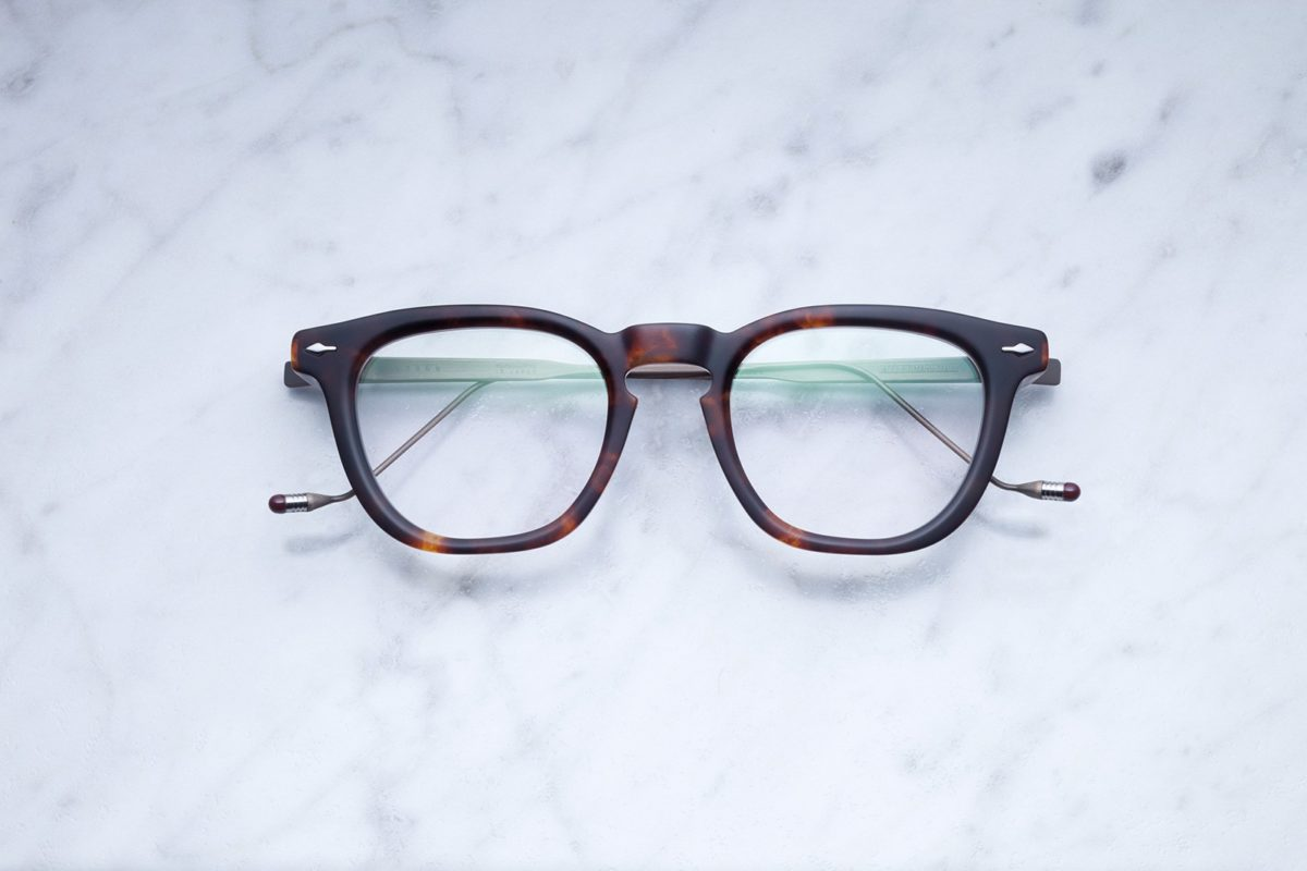 Jacques Marie Mage Byron style eyeglasses in colorway Havana JMMBYXRX-02