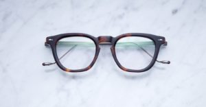 Jacques Marie Mage Byron style eyeglasses in colorway Havana JMMBYXRX-02