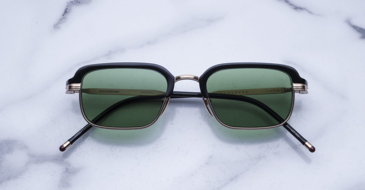 Jacques Marie Mage Comanche style sunglasses in black