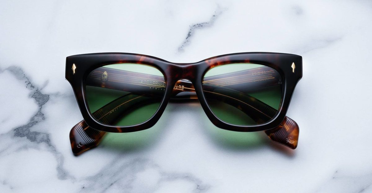 Jacques Marie Mage Dealan style sunglasses in colorway Havana 3