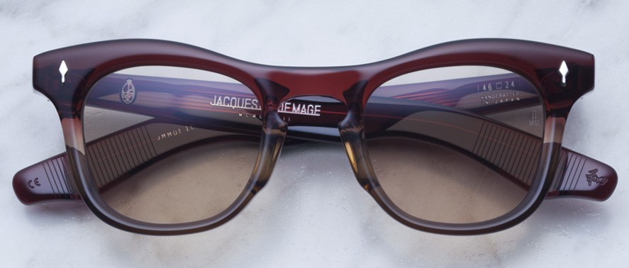 Jacques Marie Mage Dorothy style sunglasses in colorway Empire