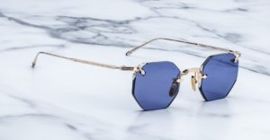 Jacques Marie Mage El Dorago rimless sunglasses in Altan colorwayv