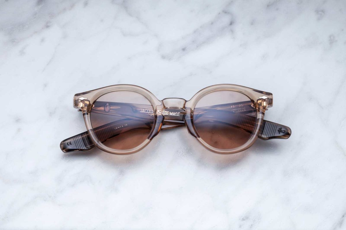 Jacques Marie Mage Felix sunglasses in colorway Sand