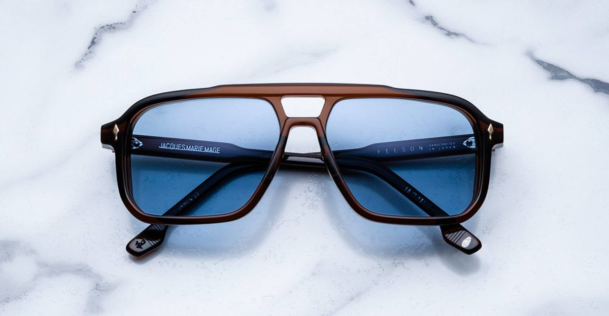 Jacques Marie Mage Felson style sunglasses in Hickory JMMFN-1D
