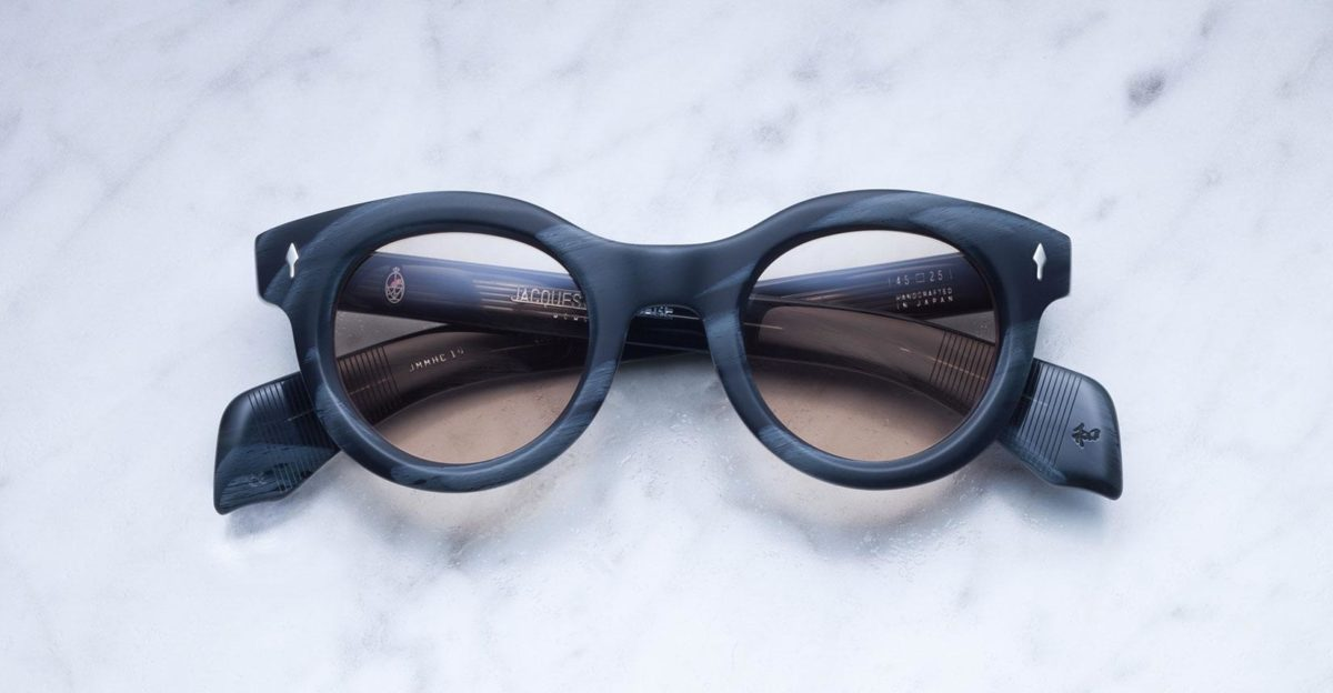 Jacques Marie Mage Hitchcock style sunglasses in colorway Buffalo
