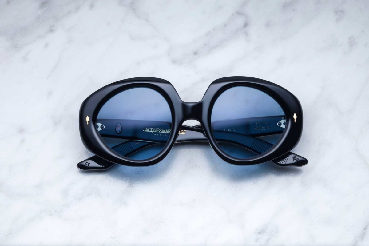 Jacques Marie Mage Jacqueline style sunglasses in black