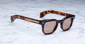 Jacques Marie Mage brand Jax style sunglasses in colorway Havana 3