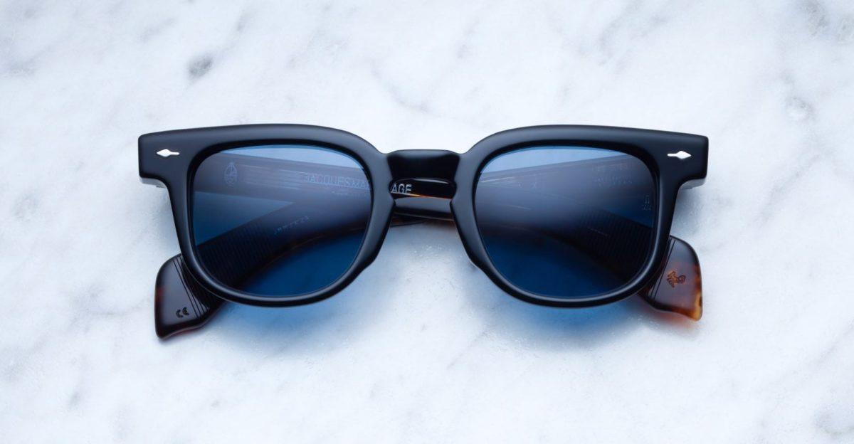 Jacques Marie Mage Jax sunglasses in Black