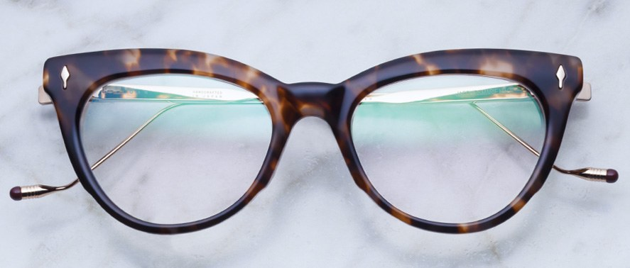 Jacques Marie Mage Joan style glasses in colorway Quartz