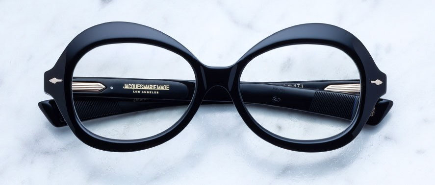 Jacques Marie Mage Lenore style eyeglasses in black