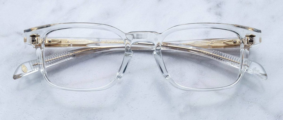 Jacque Marie Mage Marengo style eyeglasses in colorway CLEAR