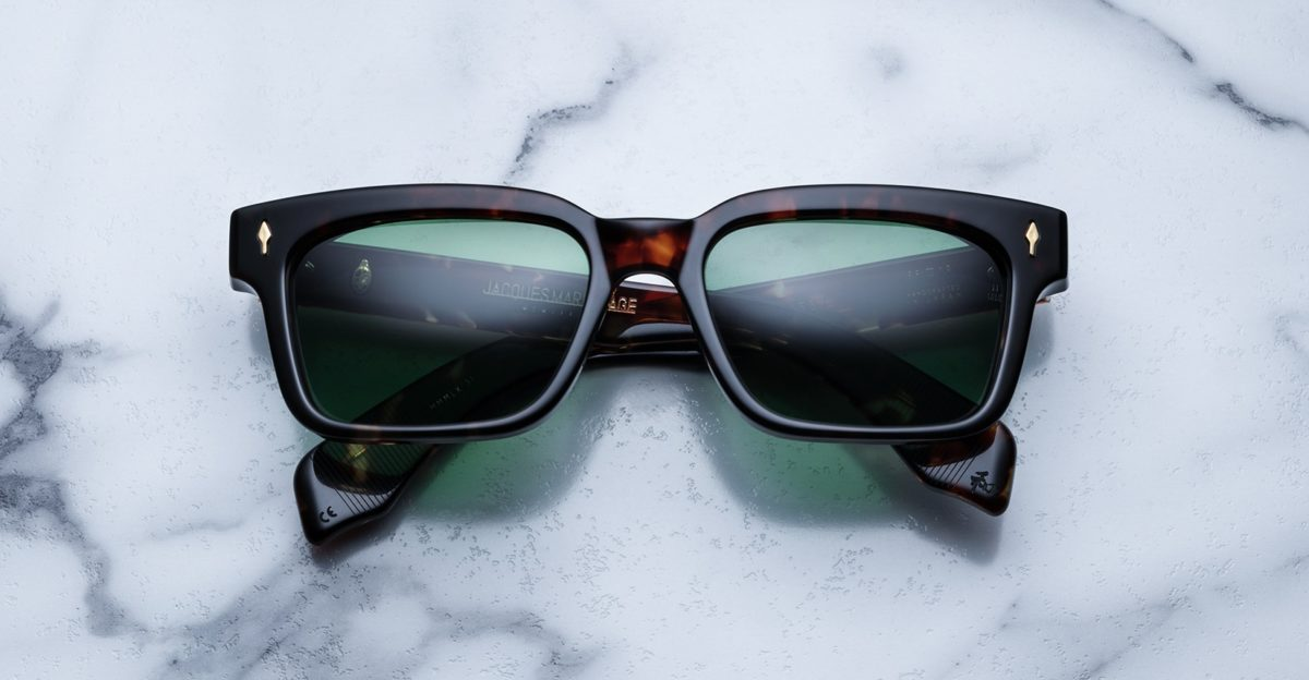 Jacques Marie Mage Molino 55 style sunglasses in colorway Dark Havana