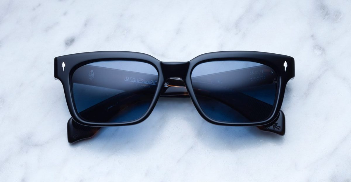 Jacques Marie Mage Molino 55 style sunglasses in black